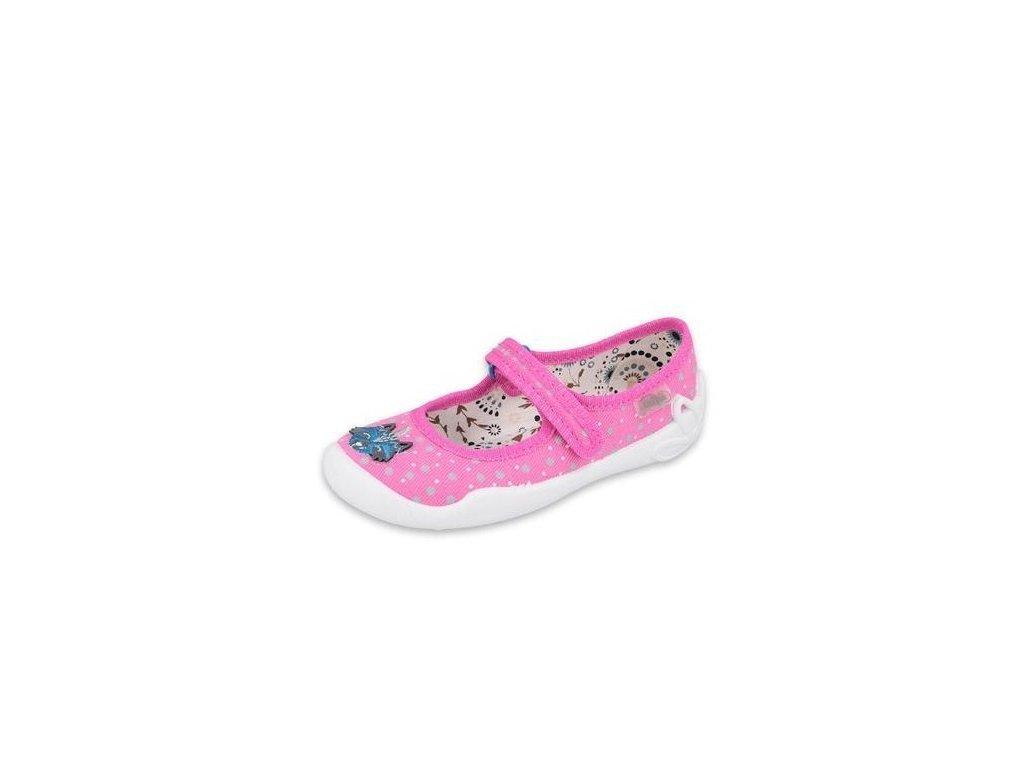 Papuče Befado | 114X426 | Růžové