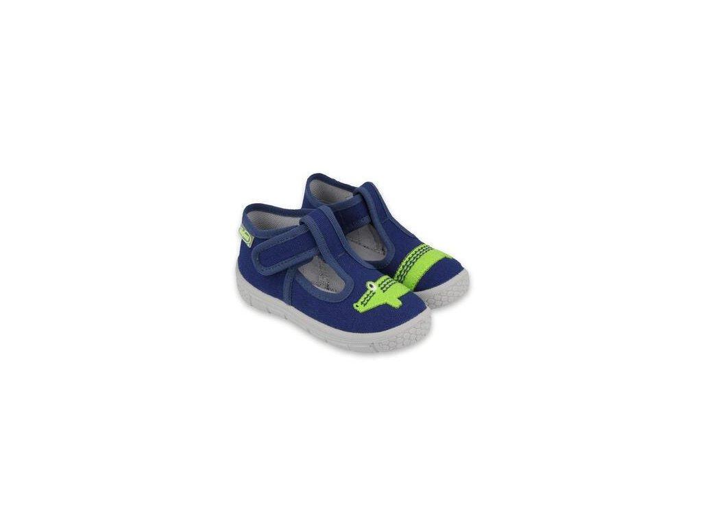 Papuče Befado | 531P083 | Modré