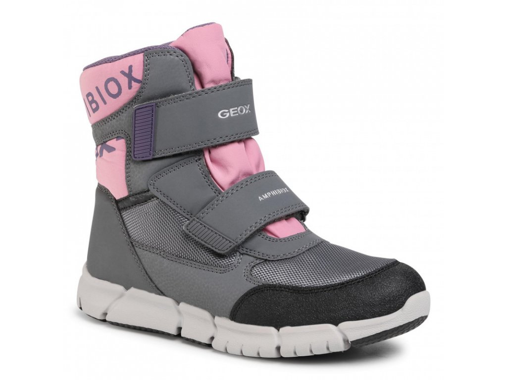 GEOX FLEXYPER J94APA GREY/ROSE