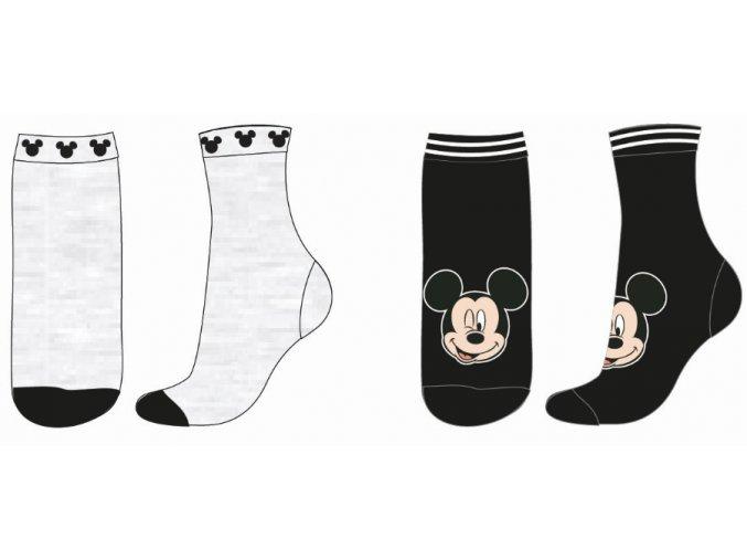 Ponožky Mickey Mouse | 53 34 6455 SINGLE | Šedé / černé