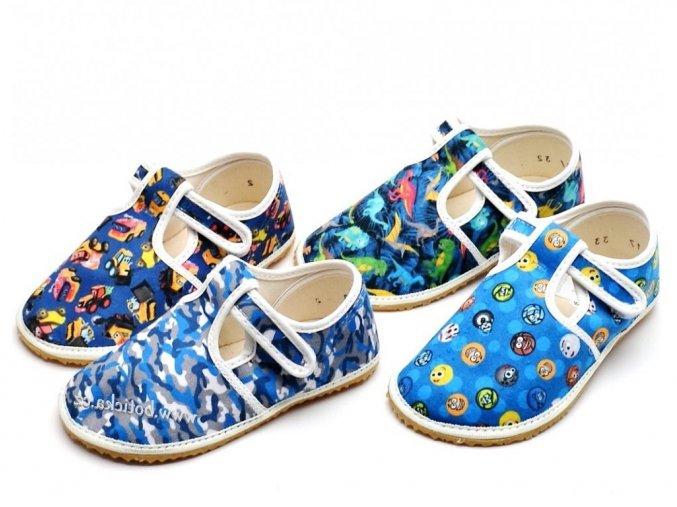 Papuče JONAP | barefoot | kluk / multicolor