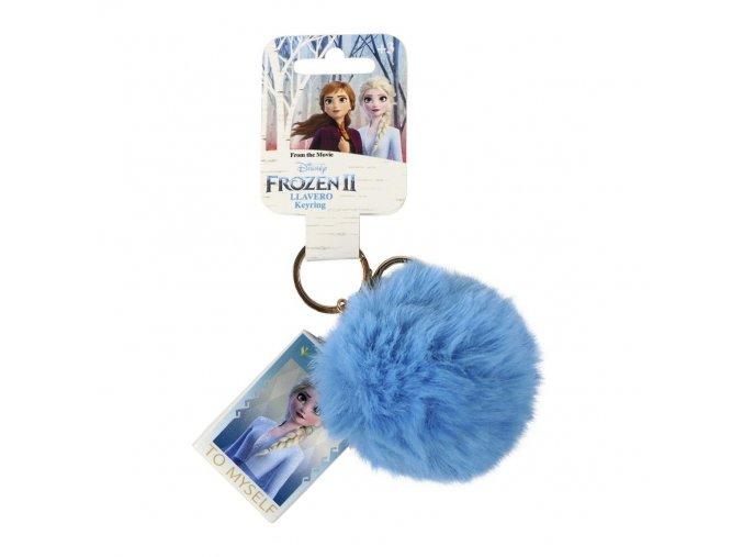 Přívěsek Elsa / Ledové království 2 | 2600000821 | Modrý hranatý