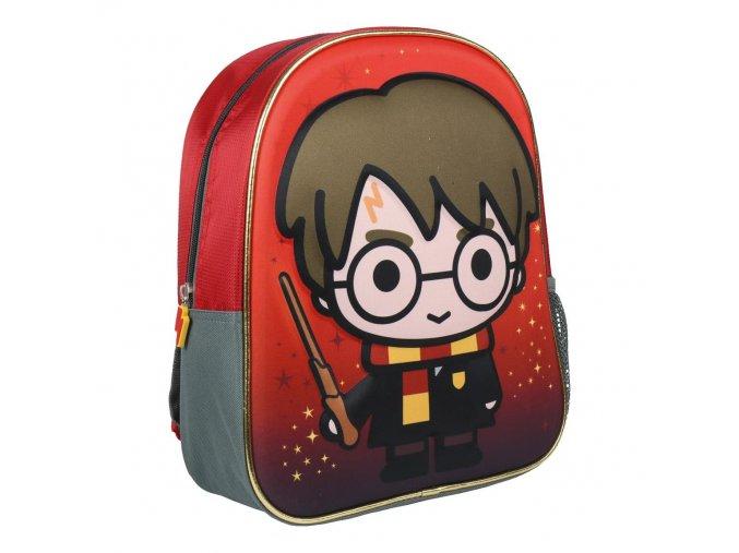 Batoh Harry Potter 3D   2100002432   Červený