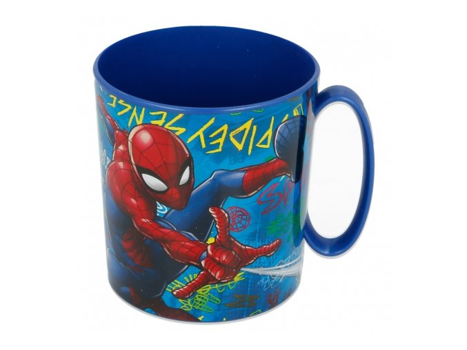 micro mug 350 ml spiderman graffiti