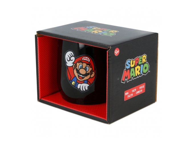 ceramic nova mug 12 oz in gift box super mario
