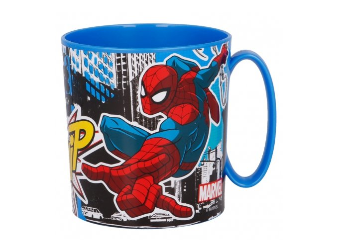 micro mug 350 ml spiderman streets
