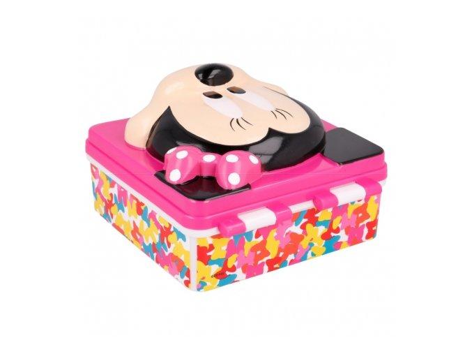 3d lunch box minnie so edgy bows (2)