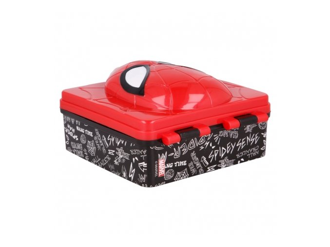 3d lunch box spiderman urban web (2)