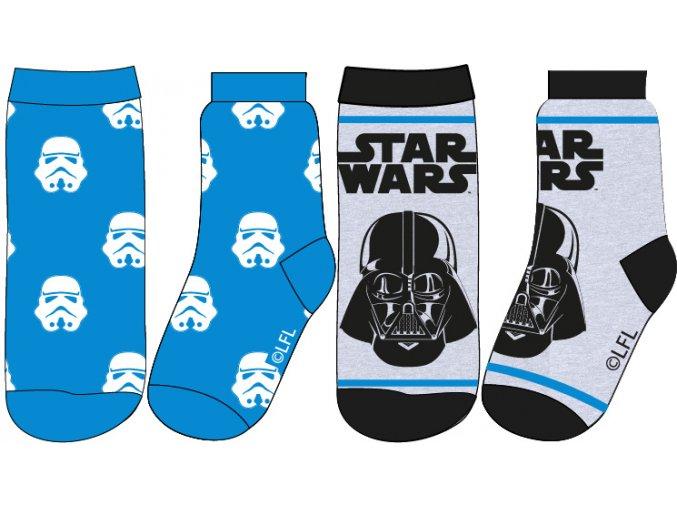 Ponožky Star Wars | 52 34 3833 | Modrá / šedá