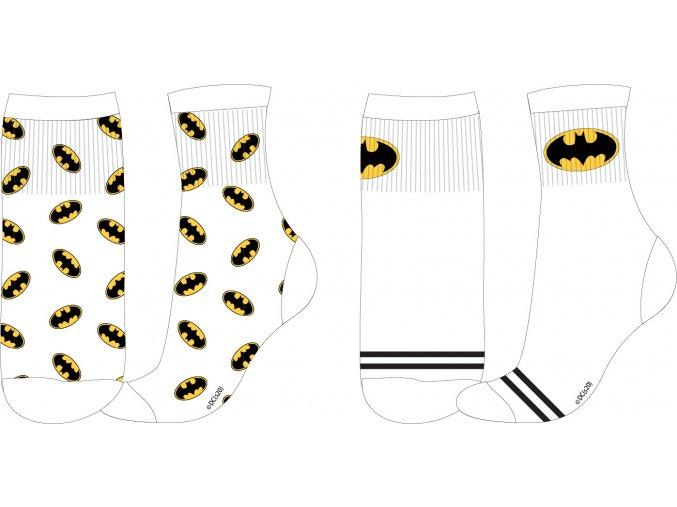Ponožky Batman   52 34 280 SPORT   Bílá / AOP