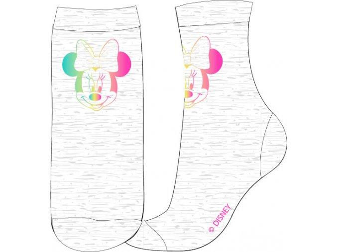 Ponožky Minnie   53 34 7530 FOIL   Šedá