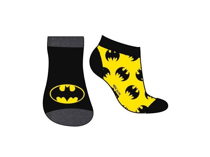 Ponožky Batman | 52 34 182 | Černá / žlutá