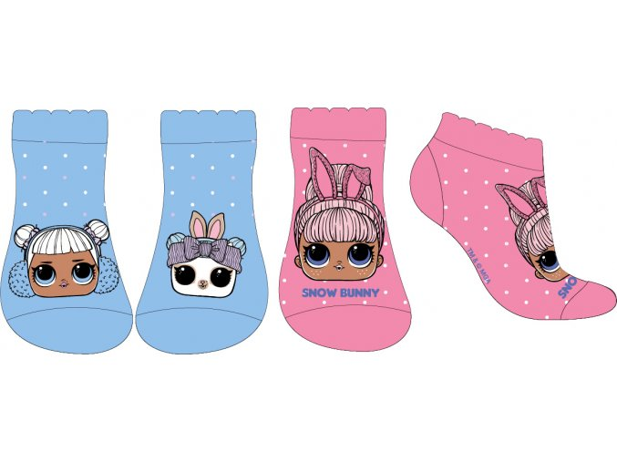 Ponožky LOL | 52 34 073 | Modrá / růžová