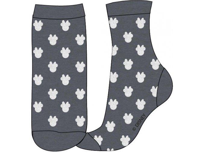 Ponožky Minnie | 52 34 7529 FOIL | Šedá