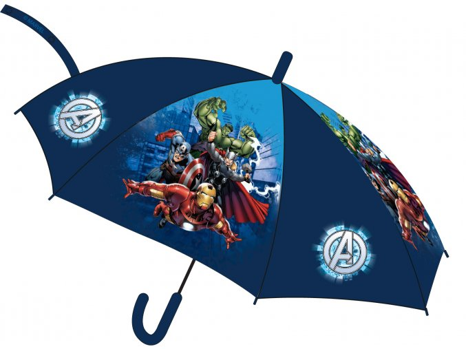 Deštník Avengers   52 50 321   Modrý