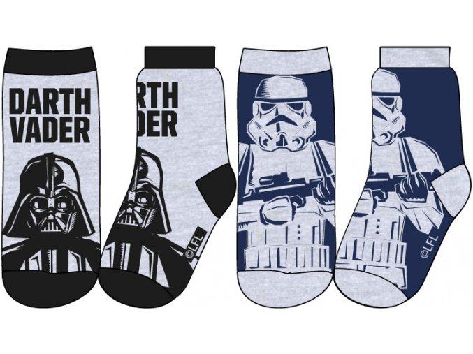 Ponožky Star Wars | 52 34 5697 | Černá / Modrá