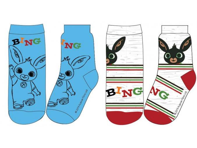 Ponožky Bing | 52 34 003 | Modrá / šedá