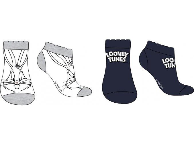 Ponožky Looney tunes | 52 34 541 | Bílá / černá