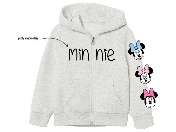 Mikina Minnie 52 18 8376 | Šedá