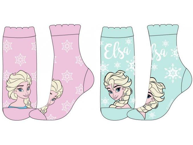 Ponožky Frozen | 52 34 5617 | Modrá / růžová