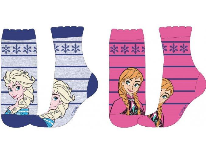 Ponožky Frozen | 52 34 5621  | Modrá / růžová