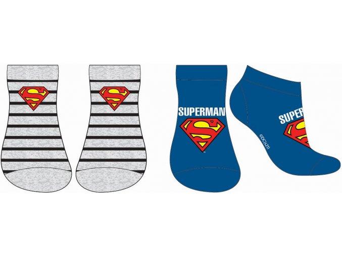 Ponožky Superman | 52 34 211 | Modrá / šedá