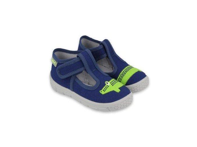 Papuče Befado 531P083 | Modré