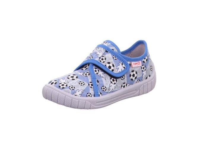 Papuče Superfit 1-000279-8010   Modro-šedé