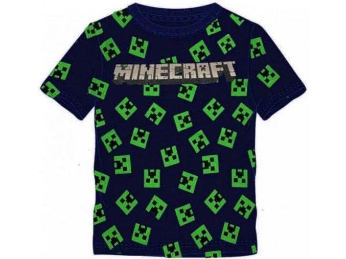 Tričko Minecraft 024 | Černé