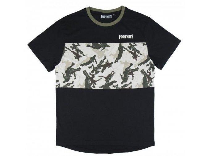 Tričko Fortnite 1046 | Černé