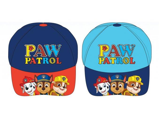 Kšiltovka Tlapková patrola | PAW 52 39 1421 | Modrá / modro-červená