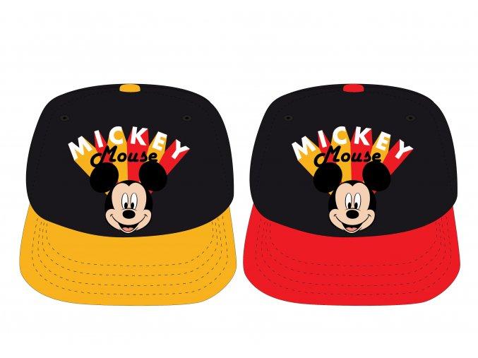 Kšiltovka Mickey Mouse   MFB 52 39 8271   Červeno-černá / žluto-černá