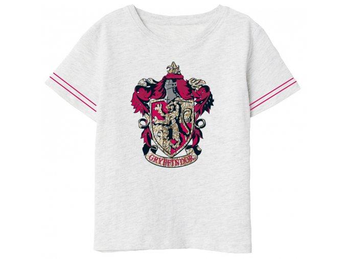 Tričko Harry Potter | HP 52 02 193 | Šedé