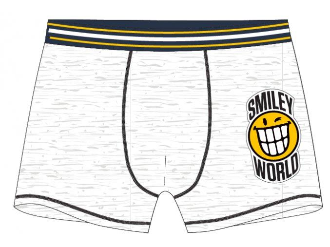 Boxerky Smiley | 52 33 085 | Šedé