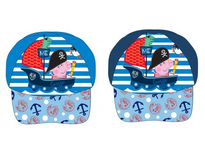 Kšiltovka Prasátko Peppa | 52 39 733 NI | Světle / tmavě modrá