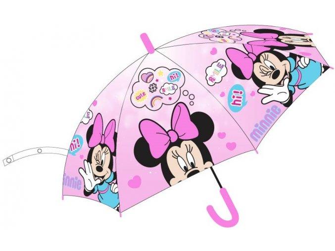 Deštník Minnie | MF 52 50 6434 | Růžový