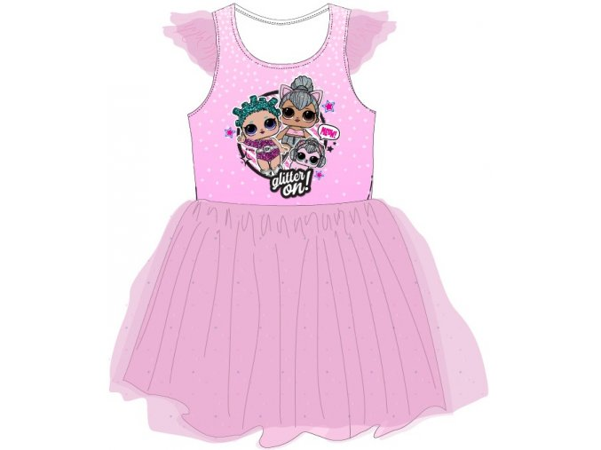 Šaty LOL   52 23 069 TIUL   Růžové