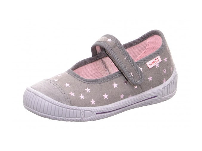 Papuče Superfit 1-000261-2000 | Béžovo-šedé