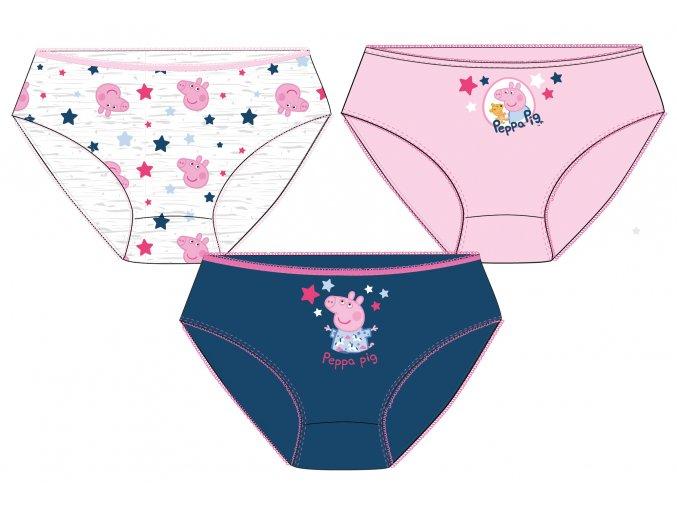 Dívčí kalhotky Prasátko Peppa | 52 33 711 | 3-PACK