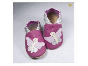 Capáčky BaBice   Motýl   Růžové