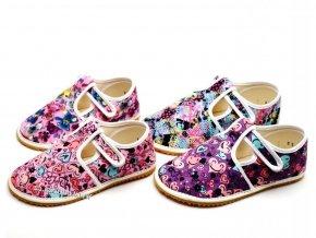 Papuče JONAP | barefoot | Holka / multicolor