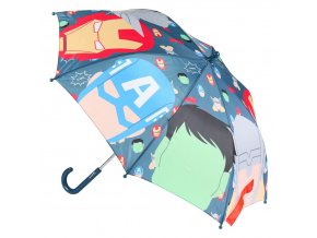 Deštník Avengers - hlavy | 2400000543 | Multicolor