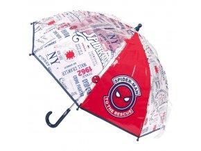 Deštník Spiderman | 2400000559 | Červený