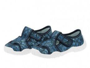 Papuče PEON MI/018 ST | Modré