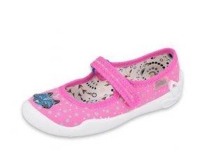 Papuče Befado 114X426 | Růžové