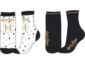 Ponožky Harry Potter   52 34 159   Bílá / černá