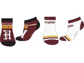 Ponožky Harry Potter   52 34 154   Hnědá / šedá
