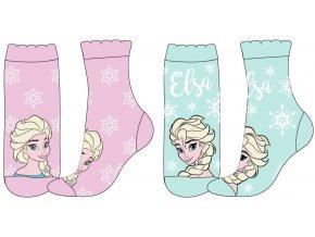 Ponožky Frozen   52 34 5617   Modrá / růžová