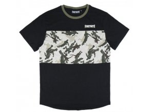 Tričko Fortnite 1046   Černé