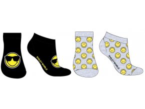 Ponožky Smile | SM 52 34 127 | Šedé / černé